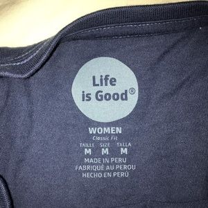 Life is Good long-sleeve T-shirt